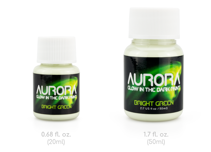 20ml and 50ml Aurora Bottles