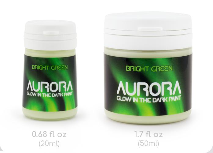 20ml and 50ml Aurora Bottles