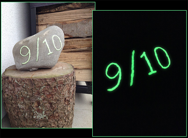 Glow In Dark House Numbers